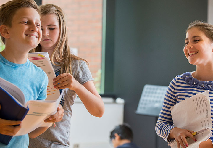 ISA Students engaged